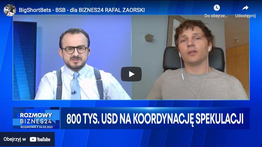 Rafał Zaorski BigShortBets